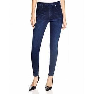Spanx Dark Wash Jean-ish Leggings size SP